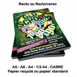 FLYERS (standard & recyclé)