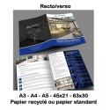 Plaquettes (standard & recyclé) 90 à 350g selon format