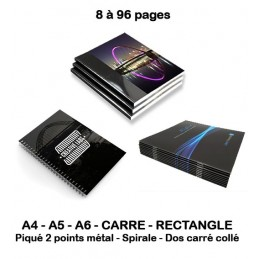 Brochures et Catalogues 8 à 96 pages