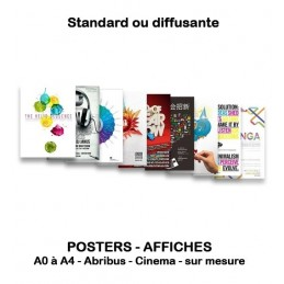 AFFICHES - POSTERS multiples formats