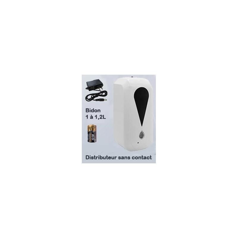 Distributeur solution hydroalcoolique sans contact (photo non contractuelle)