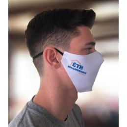 Masques de protection publicitaires personnalisables ou vierges (réutilisables) - Monocouche