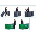LARGECASE® COUNTER XL montage (2 valises - 8 étagères)