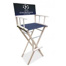 COMSEAT® Chaise Haute de DIRECTEUR CINEMA PLIABLE PERSONNALISEE