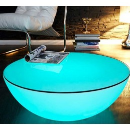 Table basse LED sans fil